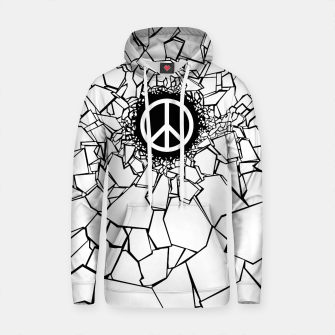 Thumbnail image of Peacebreaker II Cotton hoodie, Live Heroes