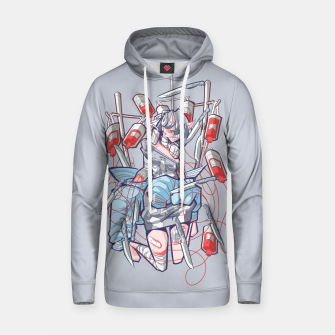 dying inside 1 Cotton hoodie miniature