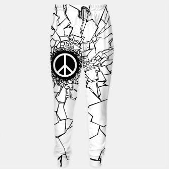 Thumbnail image of Peacebreaker II Cotton sweatpants, Live Heroes