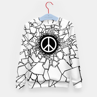 Thumbnail image of Peacebreaker II Kid's sweater, Live Heroes