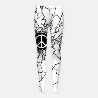 Thumbnail image of Peacebreaker II Girl's leggings, Live Heroes