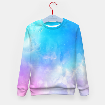 Thumbnail image of Pastel galaxy Kid's sweater, Live Heroes