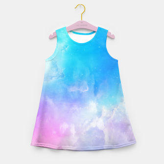 Thumbnail image of Pastel galaxy Girl's summer dress, Live Heroes