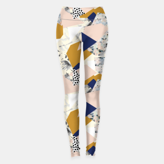 Miniaturka Shape of abstract textures Leggings, Live Heroes