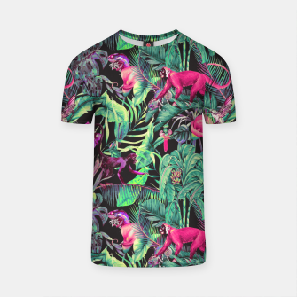 Miniatur Electric fantasy in the tropical jungle Camiseta, Live Heroes