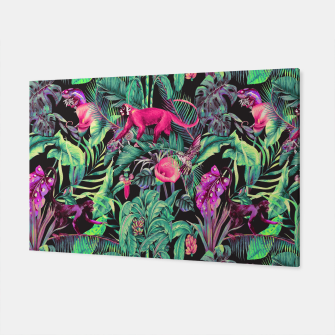 Miniaturka Electric fantasy in the tropical jungle Canvas, Live Heroes
