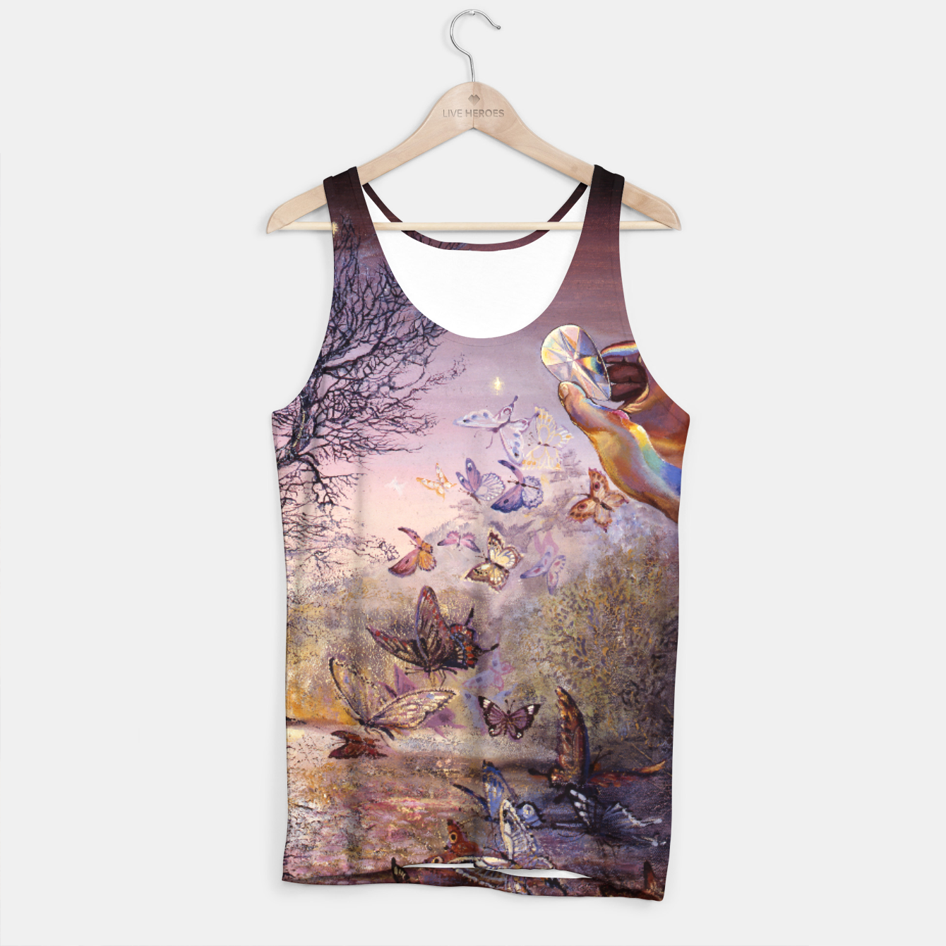 Image of Crystal Waters Tank Top - Live Heroes
