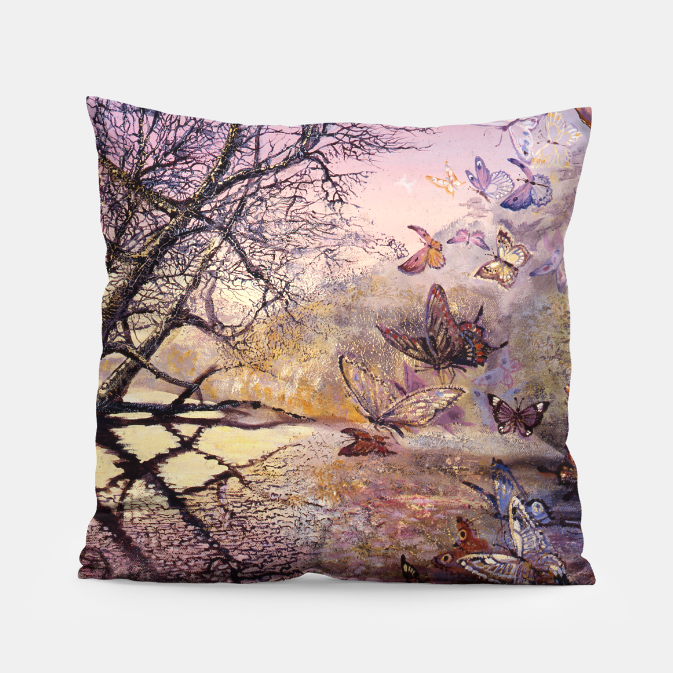 Image of Crystal Waters Pillow - Live Heroes