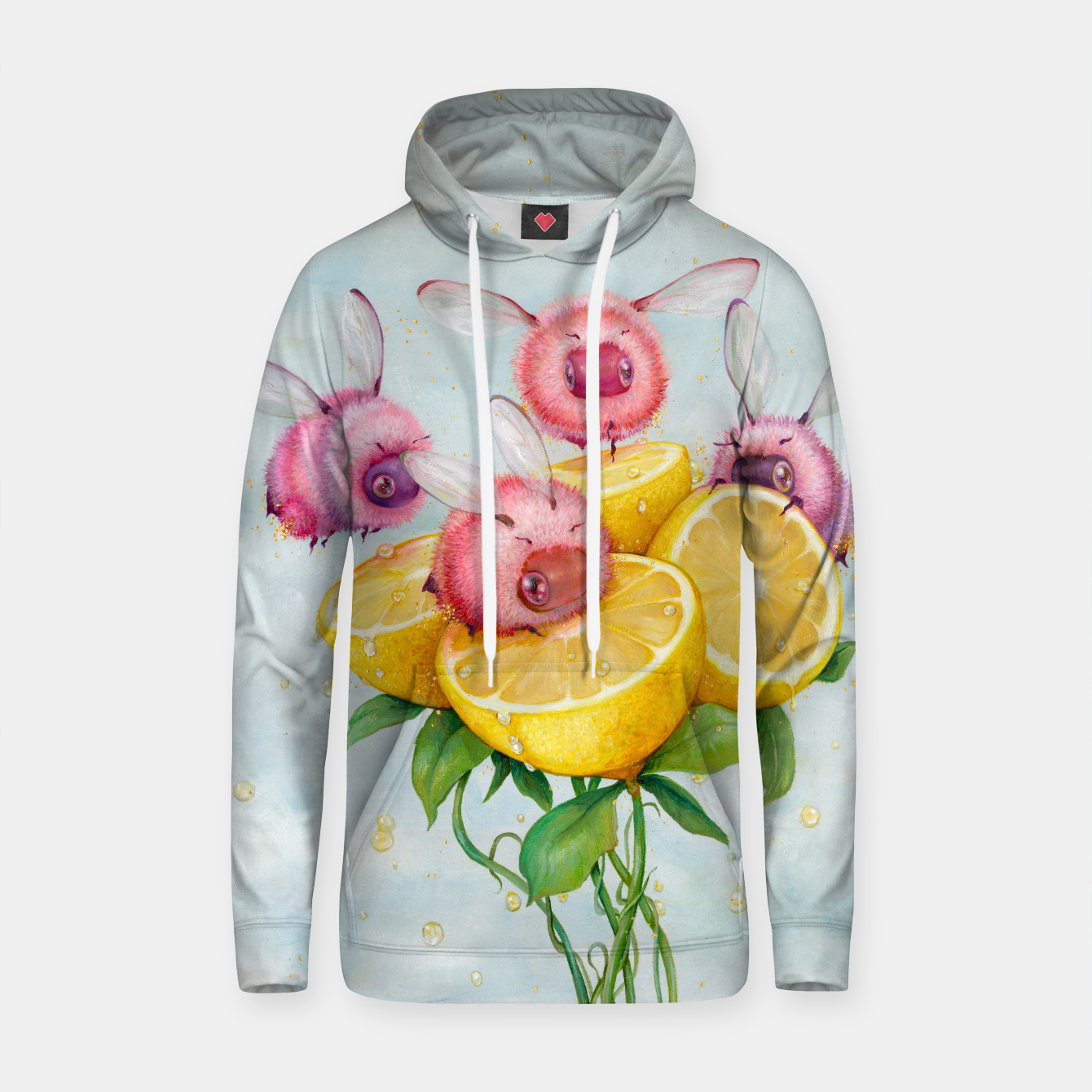 Image de Pink Lemonade Hooded Sweatshirt - Live Heroes