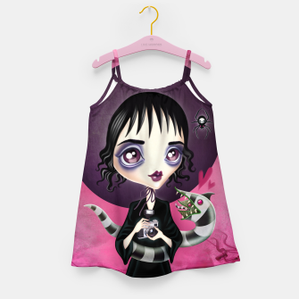 Miniatur Lydia Deetz Girl's dress, Live Heroes