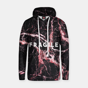 Miniaturka fragile bleed Cotton hoodie, Live Heroes