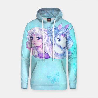 Thumbnail image of Last Unicorn Hooded Sweatshirt, Live Heroes