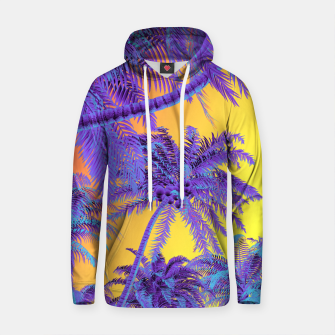 Thumbnail image of Polychrome Jungle Cotton hoodie, Live Heroes