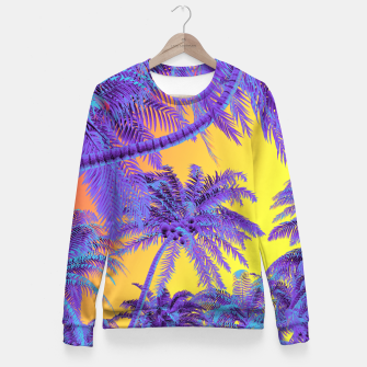 Thumbnail image of Polychrome Jungle Woman cotton sweater, Live Heroes