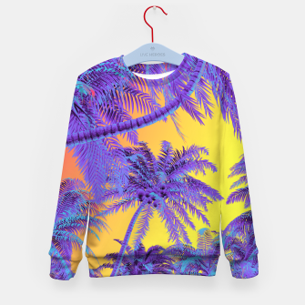 Thumbnail image of Polychrome Jungle Kid's sweater, Live Heroes
