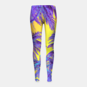 Thumbnail image of Polychrome Jungle Girl's leggings, Live Heroes