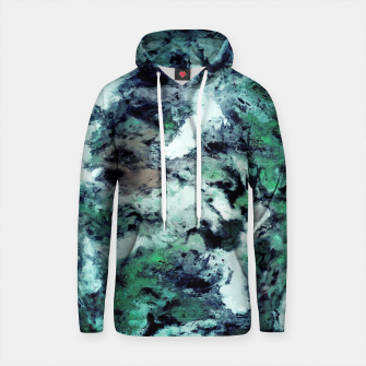 Thumbnail image of Iced water Cotton hoodie, Live Heroes