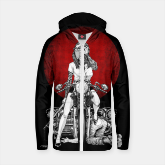 Imagen en miniatura de Winya No. 82 Cotton zip up hoodie, Live Heroes