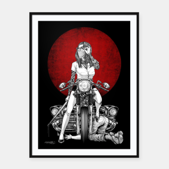 Thumbnail image of Winya No. 82 Framed poster, Live Heroes