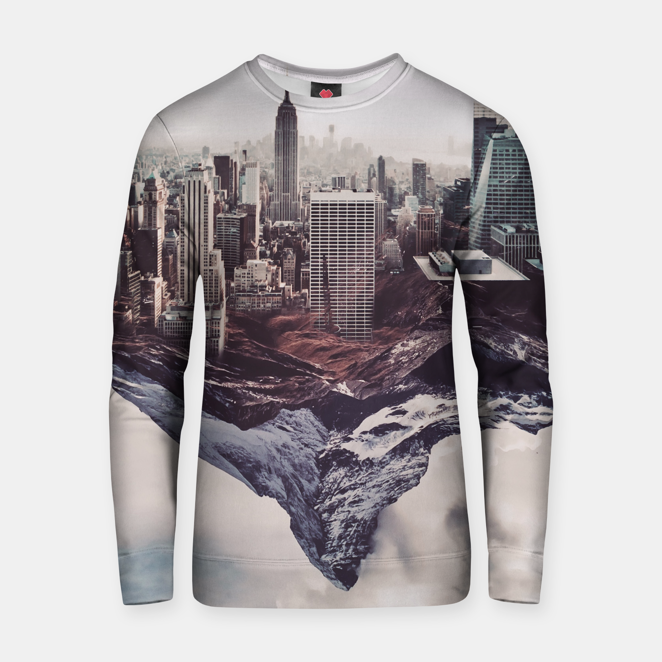 Image of Contradiction Cotton sweater - Live Heroes