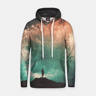 Thumbnail image of Sleepless Cotton hoodie, Live Heroes