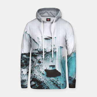 Thumbnail image of Glitched Cotton hoodie, Live Heroes