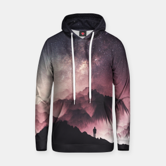 Thumbnail image of Night Cotton hoodie, Live Heroes