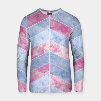 Thumbnail image of Geometric Geode M Cotton sweater, Live Heroes