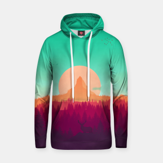 Thumbnail image of Wildly Unnatural Cotton hoodie, Live Heroes
