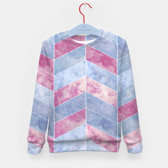 Thumbnail image of Geometric Geode M Kid's sweater, Live Heroes