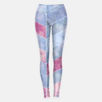 Thumbnail image of Geometric Geode M Leggings, Live Heroes