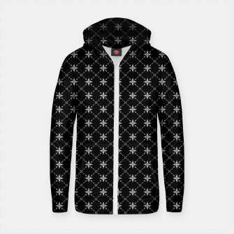 Thumbnail image of Fashionable Crosses Cotton zip up hoodie, Live Heroes