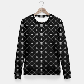 Thumbnail image of Fashionable Crosses Woman cotton sweater, Live Heroes
