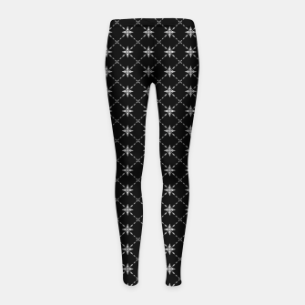 Thumbnail image of Fashionable Crosses Girl's leggings, Live Heroes