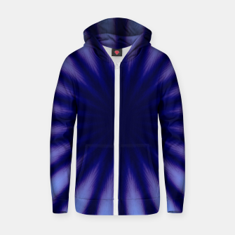 Miniaturka Blue supreme Cotton zip up hoodie, Live Heroes