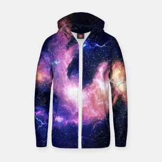 Thumbnail image of Rise of the phoenix Cotton zip up hoodie, Live Heroes