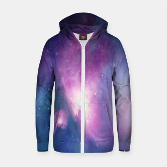 Thumbnail image of Entity Cotton zip up hoodie, Live Heroes