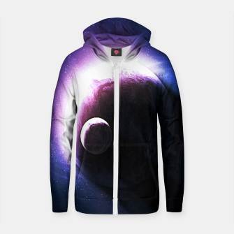 Thumbnail image of Galaxie Cotton zip up hoodie, Live Heroes