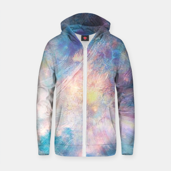 Thumbnail image of Apparition Cotton zip up hoodie, Live Heroes