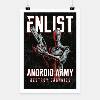 Thumbnail image of Destroy Organics Poster, Live Heroes