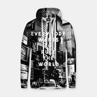 Miniaturka everybody wants to rule the world Cotton hoodie, Live Heroes