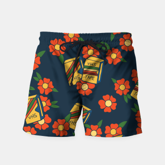 Thumbnail image of VHS tapes retro 80s love Swim Shorts, Live Heroes