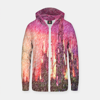Thumbnail image of Alteran sunset Zip up hoodie, Live Heroes