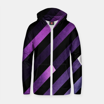 Thumbnail image of Pattern 2 Cotton zip up hoodie, Live Heroes