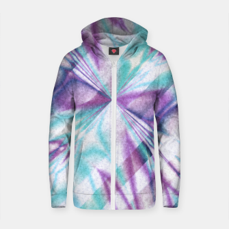 Thumbnail image of Pattern 7  Cotton zip up hoodie, Live Heroes