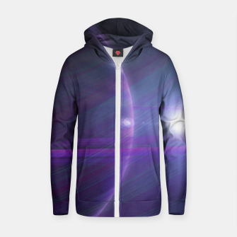 Thumbnail image of A world away Cotton zip up hoodie, Live Heroes