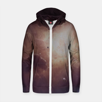 Thumbnail image of Star formation Cotton zip up hoodie, Live Heroes