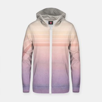Thumbnail image of Horizontal flight Cotton zip up hoodie, Live Heroes