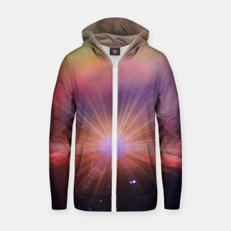Thumbnail image of Mars rises Cotton zip up hoodie, Live Heroes