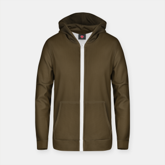 MAD MANUHURU P-Rimutaka Cotton zip up hoodie thumbnail image